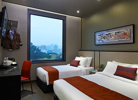 Affordable Triple rooms at Hotel Boss