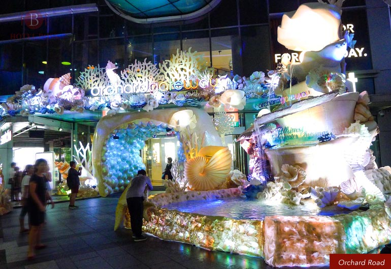 Christmas Light Up At Orchard Road Singapore Hotel Boss