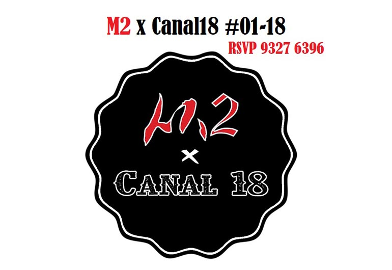 M2 x Canal 18 @ Hotel Boss